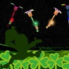 St. Patrick's Day LED Rocket Flyers (6-Pack)