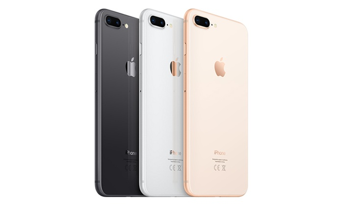 Apple iPhone 8 Plus 64GB on 24-Month Three Contract (£44/Month) with 30GB 4G Data With Free Delivery for £9.99