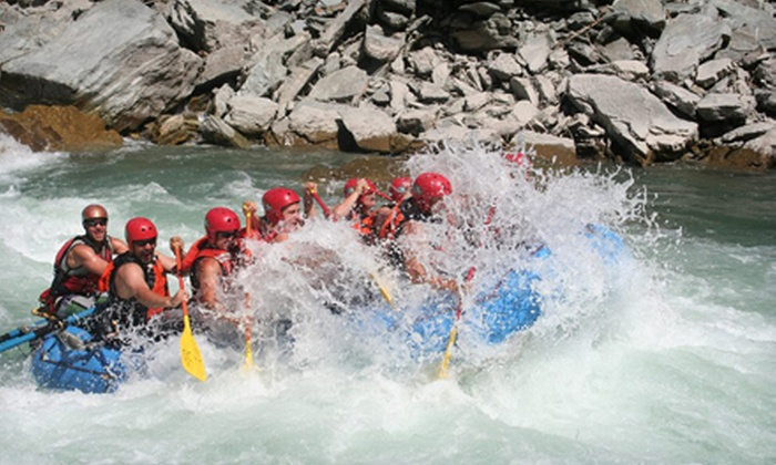 Mountain High Adventures - University District: Full-Day Whitewater-Rafting Trip for Two or Four from Mountain High Adventures in Fernie (Up to 56% Off)