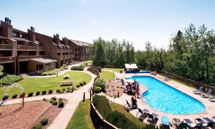 Stay at Caribou Highlands Lodge on Lutsen Mountain in Lutsen, MN. Dates into November.