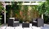 salon de jardin r sine inject e groupon shopping. Black Bedroom Furniture Sets. Home Design Ideas