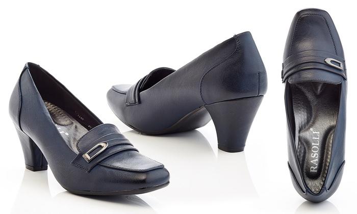 Rasolli Women's Comfort Dress Career Shoes (Size 8.5)