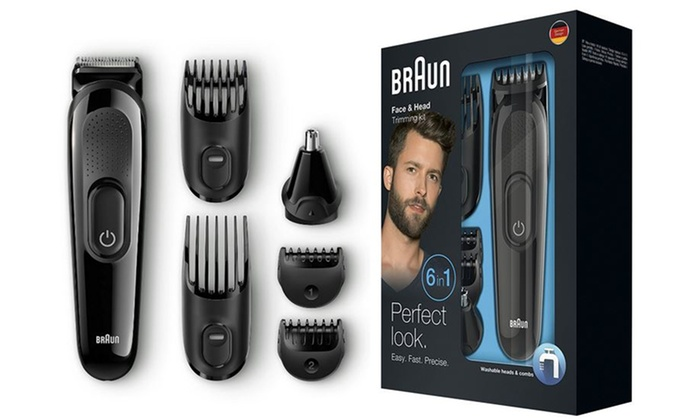 Braun MGK3020 6-in-1 Multi-Grooming Kit for £17.99