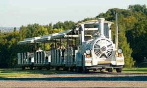 Gem Srl: Tour con trenino e pranzo della tradizione per una o 2 persone al Parco Giardino Sigurtà (sconto 45%)