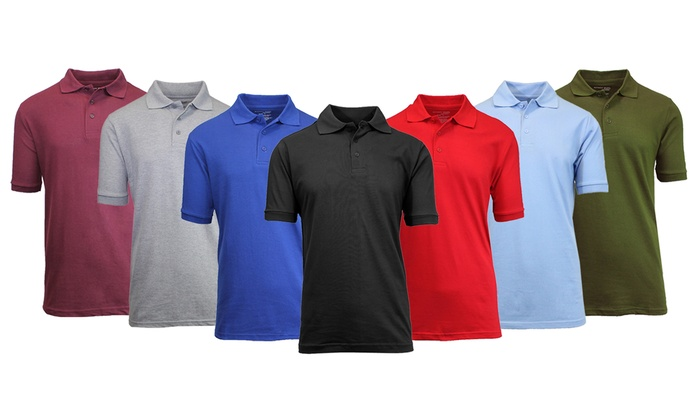 Slow Rider Mens Short Sleeve Polo Shirt Regular Blouse Sport Tee