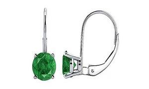 Genuine Emerald Earrings  at YEIDID INTERNATIONAL INC, plus 6.0% Cash Back from Ebates.