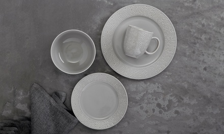 $39 for a Maxwell & Williams Mantra Rim 16Piece Dinner Set Don't Pay $139.95