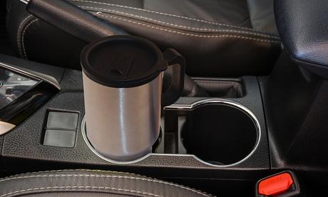 1 o 2 tazze elettriche in acciaio con adattatore per auto da...
