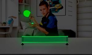 Fillet de table de Ping Pong avec raquettes et balles