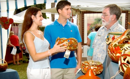 1-Day Pass for 2 (up to a $12 value) - Atalaya Arts and Crafts Festival in Murrells Inlet