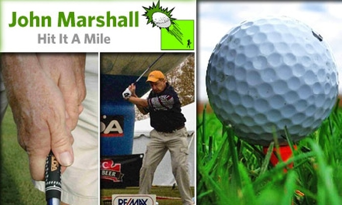 Hit It A Mile - Crooked Creek: $40 for a One-Hour Private Golf Lesson at Hit It A Mile with John Marshall ($80 Value)