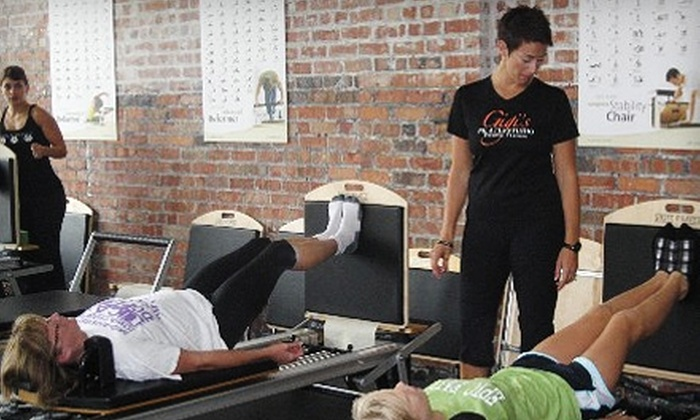Gigi's Pilates Studio & Personal Training - Downtown Des Moines: $45 for Four Sessions at Gigi's Pilates Studio & Personal Training. Choose Between Two Options.