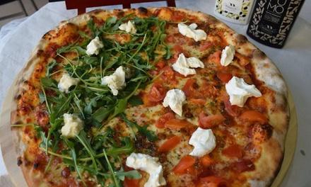 Menú para 2 o 4 personas con porciones de pizza y bebida desde 9,95€ en El Panzerocho Centro