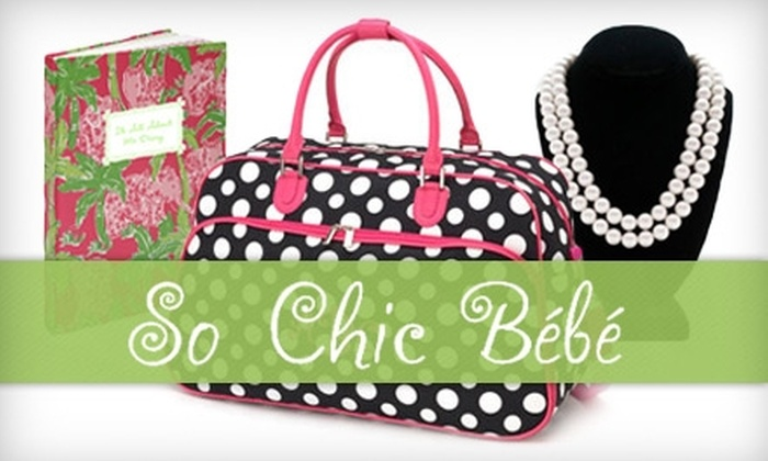 So Chic Bébé - Downtown Fayetteville: $10 for $20 Worth of Clothes, Jewelry, Accessories, and More at So Chic Bébé