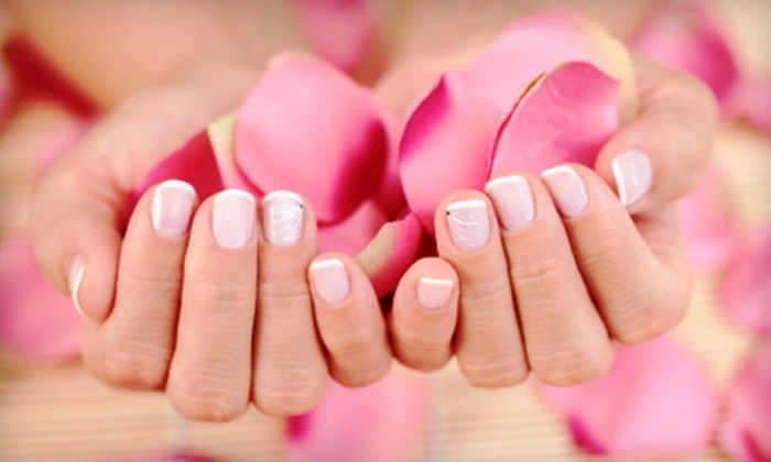 HairPort and Touch of Class Tanning - Middletown: $16 for $34 Worth of Nail Services at HairPort and Touch of Class Tanning in Middletown