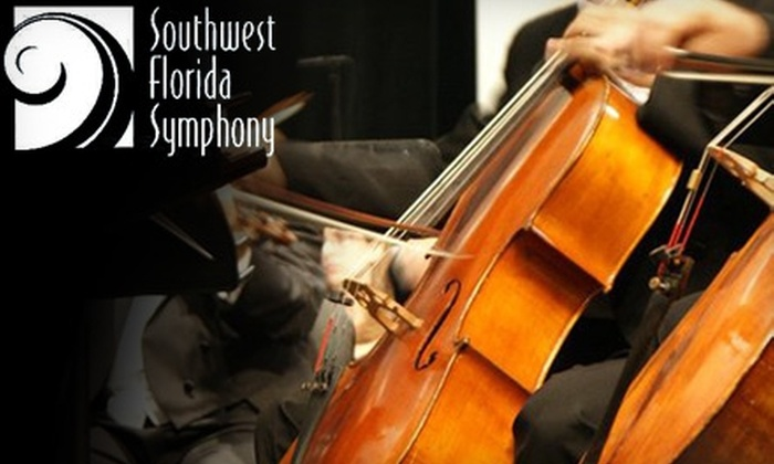 """Southwest Florida Symphony Orchestra - Fort Myers: $20 for One Ticket to Southwest Florida Symphony Orchestra's """"Stay Tuned"""" Featuring Five By Design (Up to $60 Value)"""