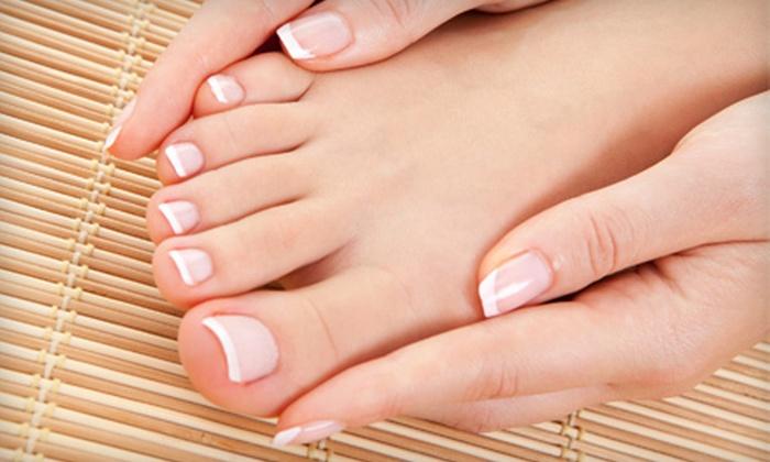 Nails by Alicia — Salon Nouveau - Downtown Clovis: $29 for a Spa Mani-Pedi at Nails by Alicia — Salon Nouveau in Clovis ($65 Value)