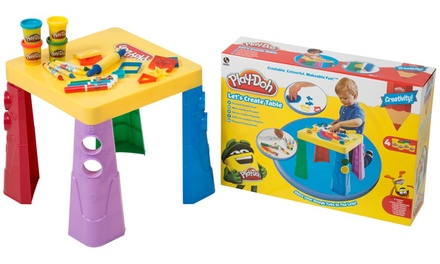 PlayDoh Let's Create Table