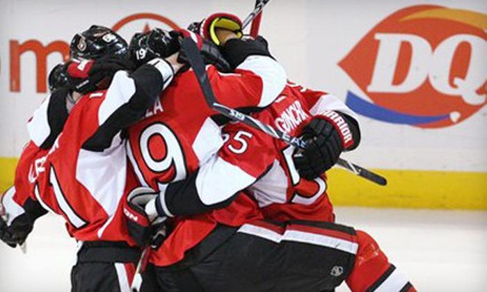 Ottawa Senators - Ottawa: Ottawa Senators Game-Day Package at Scotiabank Place (Up to Half Off). Five Options Available.