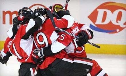Ottawa Senators vs. Buffalo Sabres at Scotiabank Place on Tue., Dec. 20 at 7:30PM: Upper 300-Level Seating - Ottawa Senators in Ottawa