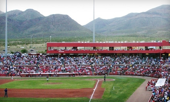 El Paso Diablos - El Paso: $7 for Two General-Admission Tickets ($14 Value) or $8 for Two Box-Seat Tickets ($16 Value) to an El Paso Diablos Baseball Game