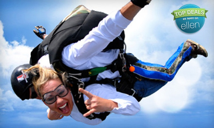 Sportations - Cedartown: $129 for a Tandem Skydiving Session from Sportations (Up to $195 Value)