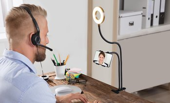 Aduro U-Stream Social Media Phone Mount and Light Kit