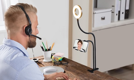 Aduro U-Stream Social Media Phone Mount and Light Kit