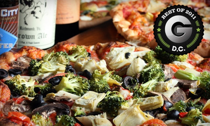 Arganica Farm Club - Multiple Locations: Three- or Six-Month Membership Package with Delivery of Locally Sourced Pizza and Beer from Arganica Farm Club (52% Off)