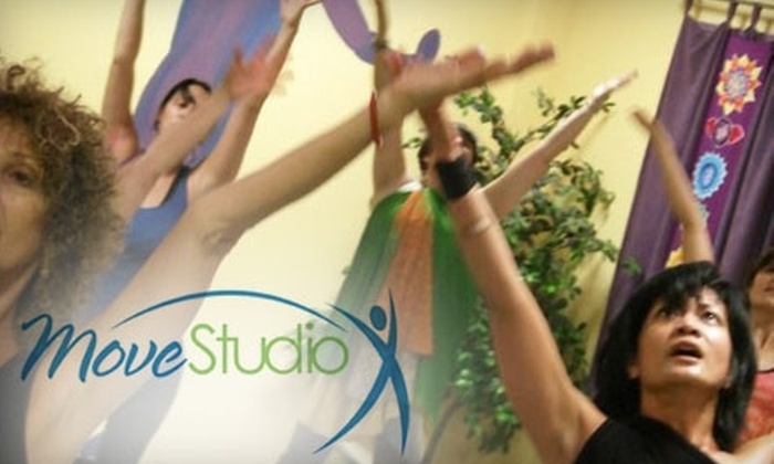 MoveStudio - Dallas: $29 for Six Drop-In Classes at MoveStudio ($80 Value)
