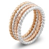 18K Gold Plated Stackable Ring Set (4-Piece)