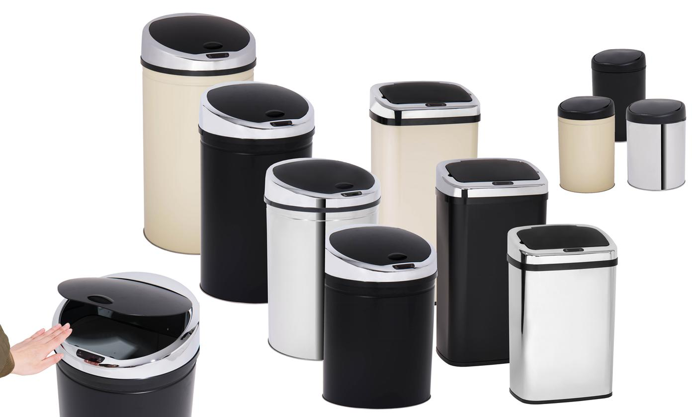 Davis & Grant 3L, 30L, 40L or 50L Square or Round Sensor Bin in Choice of Colour