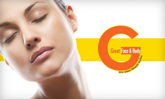 Great Face & Body - Raynolds Addition: Spa Treatment at Great Face & Body. Choose from Three Options.