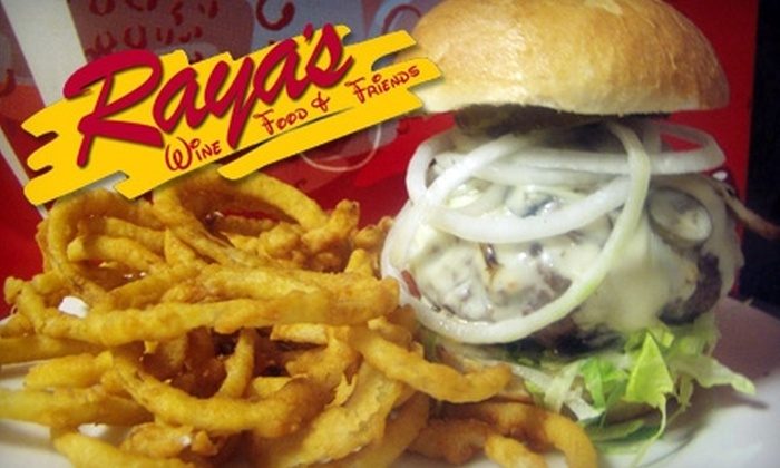 Raya's Restaurant and Bar - Ledyard: $10 for $21 Worth of Comforting Cuisine at Raya's Restaurant and Bar in Gales Ferry