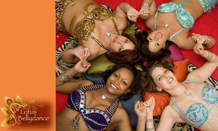 Lotus Dance Studio - Ballantyne East: $25 for Four Belly-Dance Classes at Lotus Bellydance