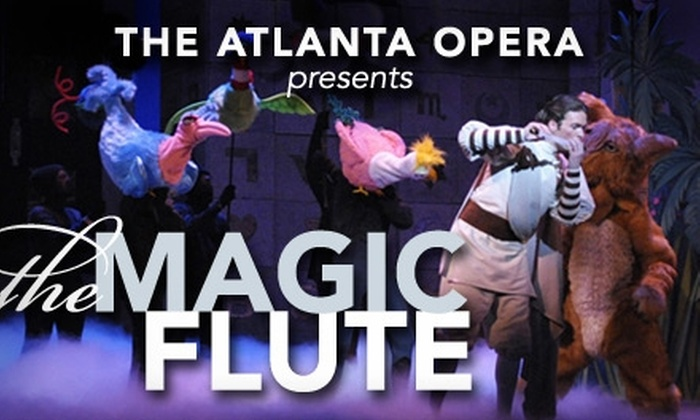 "The Atlanta Opera - Downtown Medical Center: $30 for a Ticket to ""The Magic Flute"" at The Atlanta Opera (Up to $133 Value). Buy Here for 5/2/10 at 3 p.m. See Below for Additional Dates."