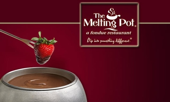 The Melting Pot - Multiple Locations: $25 for $50 Worth of Fondue and Drinks at The Melting Pot