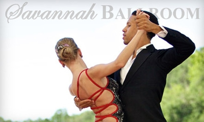 Savannah Ballroom Dancing - Oakhurst: $30 for Three 25-Minute Private Ballroom-Dance Lessons at Savannah Ballroom Dancing ($90 Value)
