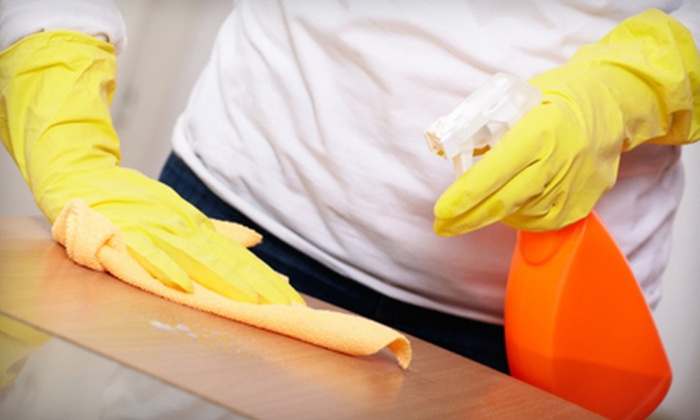 Voxcom Cleaning Service - Downtown: One, Three, or Five Three-Hour Housecleaning Sessions from Voxcom Cleaning Service (Up to 60% Off)