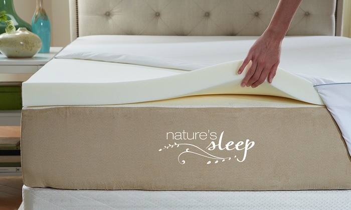 Memory Foam Mattress Topper Groupon Goods