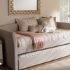 Camino Upholstered Daybed with Guest Trundle Bed