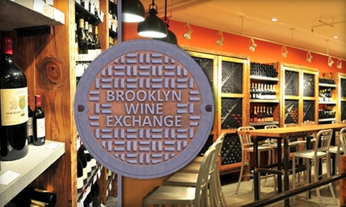 Brooklyn Wine Exchange - Cobble Hill: $30 for a Three-Month Wine Membership and Classes at Brooklyn Wine Exchange ($60 Value)