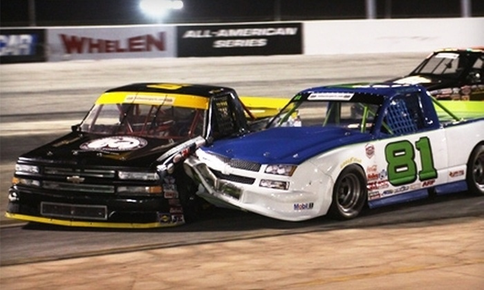 Houston Motorsports Park - Houston: Night of NASCAR Racing for Two or Four at Houston Motorsports Park (Half Off)