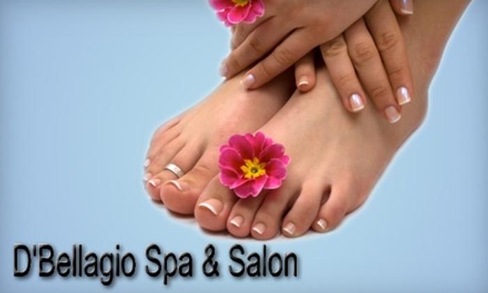 D'Bellagio Spa & Salon - University Village / Little Italy: $31 for Signature Manicure and Spa Pedicure at D'Bellagio Spa & Salon