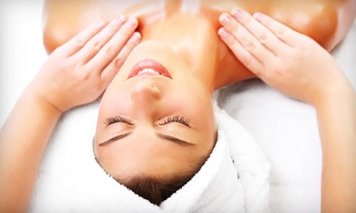 Aqua Salon and Spa - Alamo: One or Three 60-Minute Massages or Brazilian Waxes at Aqua Salon and Spa in Alamo (Up to 56% Off)