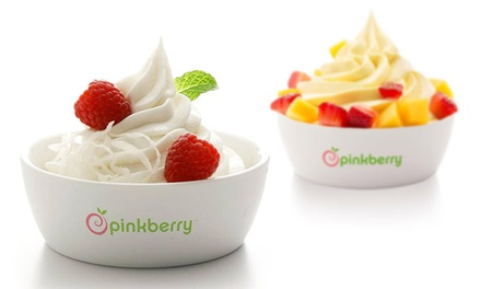 One or Three Groupons, Each Good for $10 Worth of Frozen Yogurt and Treats at Pinkberry ( 50% Off)