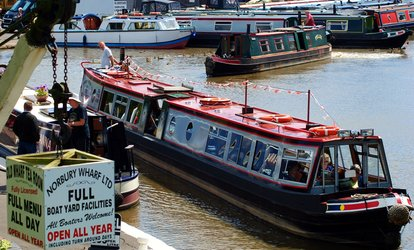 Shropshire Canal Cruise with Optional Cream Tea for Up to Four with Norbury Wharf (Up to 53% Off)