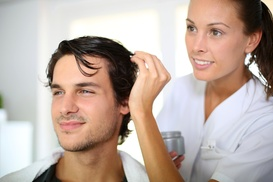 Hair Rehab: $14 for Men's Haircut, Shampoo, and Style at Hair Rehab ($35 value)