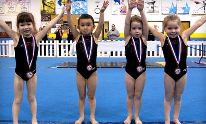 Southlake Gymnastics - Commerce Business Park: $60 for Annual Registration and One Month of Classes at Southlake Gymnastics Academy in Southlake