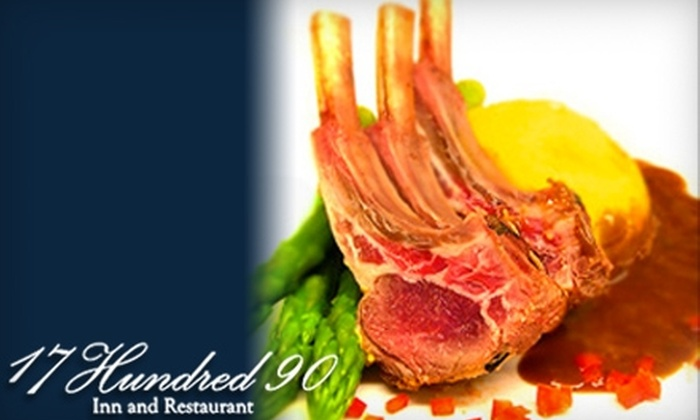 17Hundred90 - Historic District - North: $20 for $40 Worth of Steakhouse Cuisine at 17Hundred90
